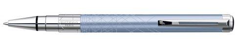 Waterman PERSPECTIVE LIGHT BLUE ezüst klipsz golyóstoll