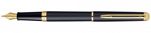Waterman HEMISPHERE NEWaterman MATT BLACK arany klipsz töltőtoll