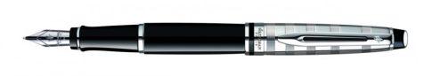 Waterman EXPERT III. DELUXE BLACK ezüst klipsz töltőtoll