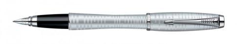 Parker Urban Premium VACUMATIC SILVER-BLUE PEARL ezüst klipsz töltőtoll