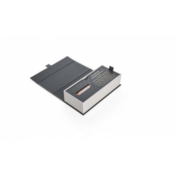 Parker Royal Ingenuity Premium Slim 5Th Gyöngyházfehér, Aranyarózsaszín Klipsz