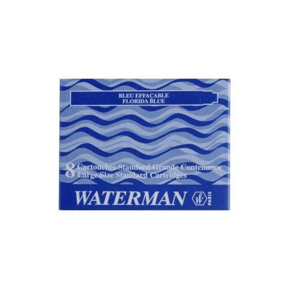 5 db Waterman Töltőtoll PATRON Töltőtoll PATRON S0110860, 52002 STAND. 8 DB BLUE