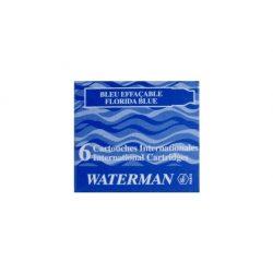 2 db Waterman Töltőtoll PATRON Töltőtoll PATRON S0110950, 52012 INTERN. 6 DB BLUE