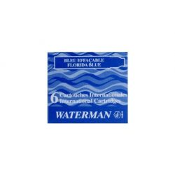 3 db Waterman Töltőtoll PATRON Töltőtoll PATRON S0110950, 52012 INTERN. 6 DB BLUE