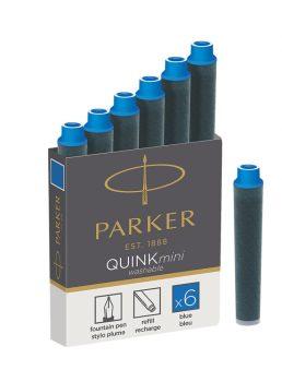 Parker Royal Tintapatron Rövid Kék