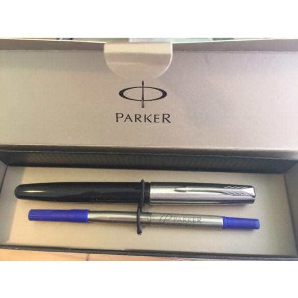 Parker Rollertoll Fekete ezüst klipsz