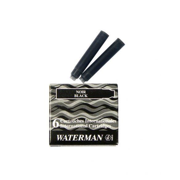 Waterman Töltőtoll PATRON Töltőtoll PATRON S0110940, 52011 INTERN. 6 DB BLACK