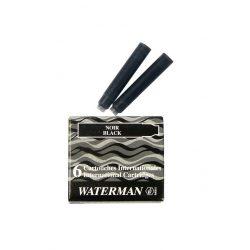 3 db Waterman Töltőtoll PATRON Töltőtoll PATRON S0110940, 52011 INTERN. 6 DB BLACK