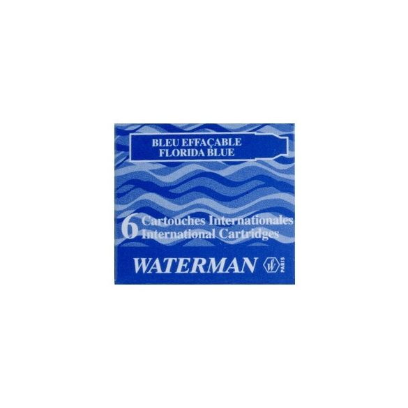 5 db Waterman Töltőtoll PATRON Töltőtoll PATRON S0110950, 52012 INTERN. 6 DB BLUE